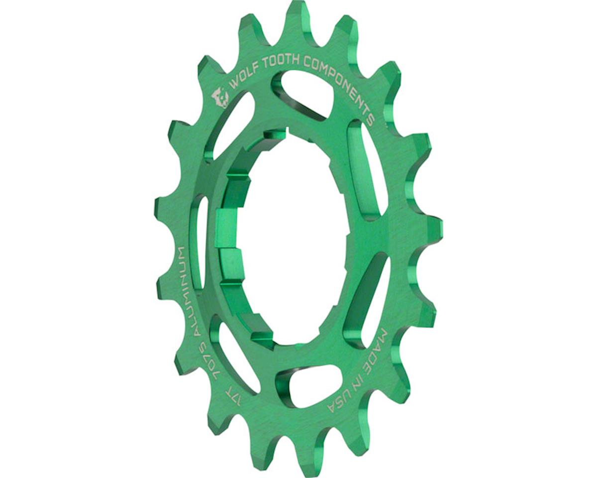 Wolf Tooth Components Single Speed Aluminum Cog (Green) (17T)