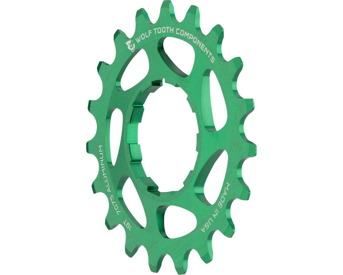 Wolf Tooth Components Single Speed Aluminum Cog (Green) (19T)