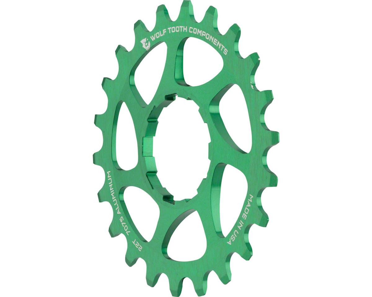 Wolf Tooth Components Single Speed Aluminum Cog (Green) (22T)
