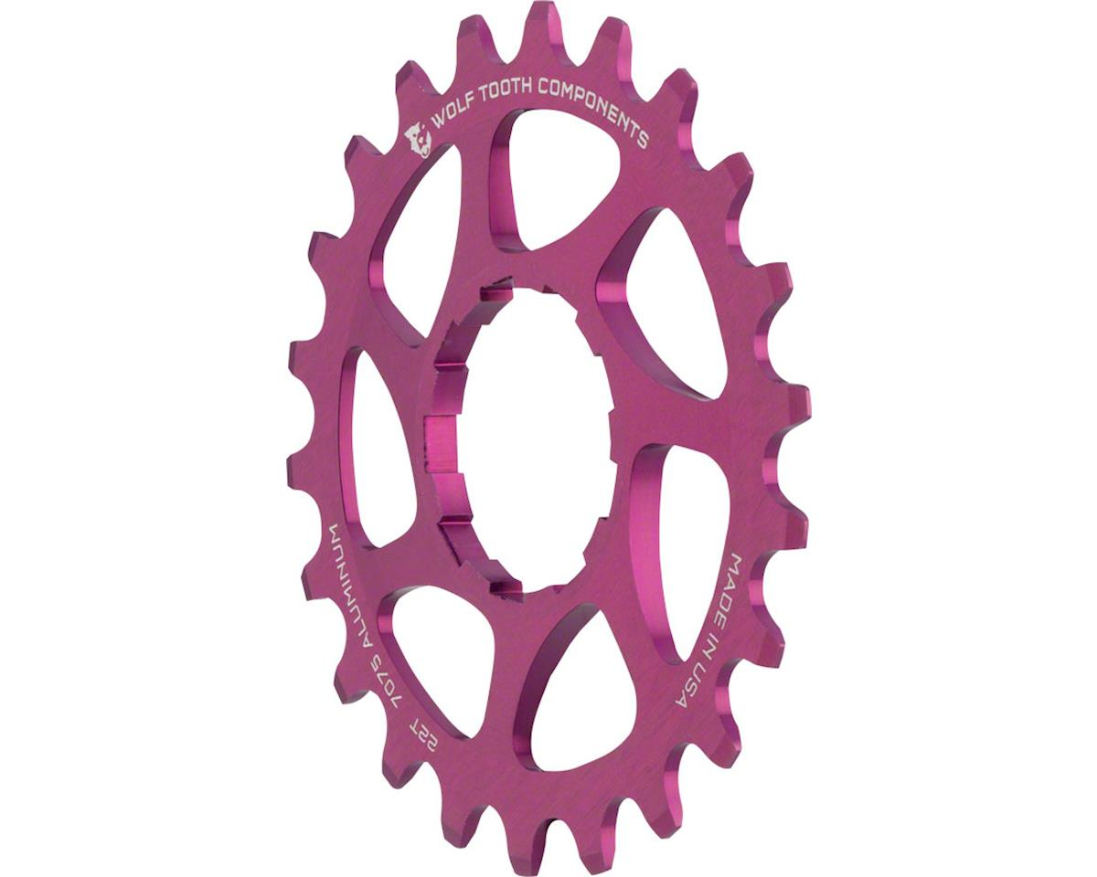 Wolf Tooth Components Single Speed Aluminum Cog (Purple) (22T)