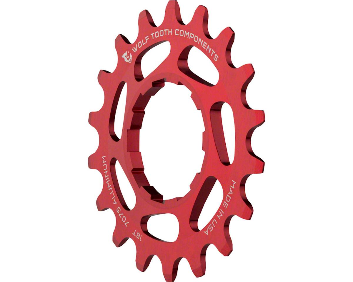 """Wolf Tooth Components Single Speed Aluminum Cog: 16T, Compatible with 3/32"""" chai (18T)"""