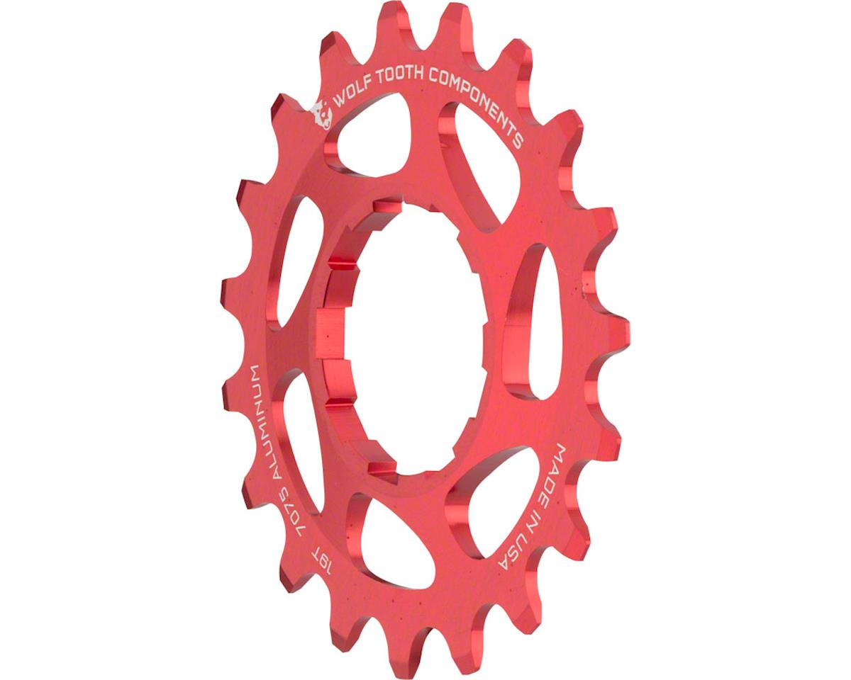 "Wolf Tooth Components Single Speed Aluminum Cog: 16T, Compatible with 3/32"" chai (19T)"