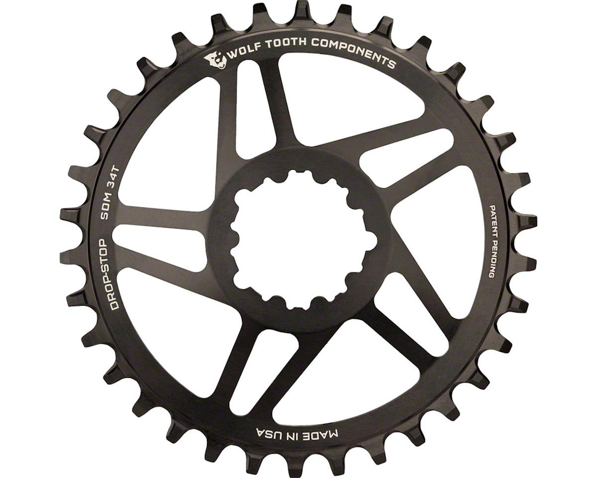 Wolf Tooth Components Direct Mount Drop-Stop Chainring (Black) (28T)