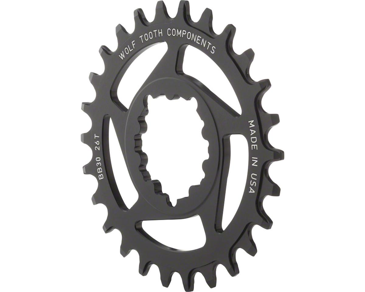 Wolf Tooth Components Direct Mount Drop-Stop Chainring (0mm Offset) (26T)