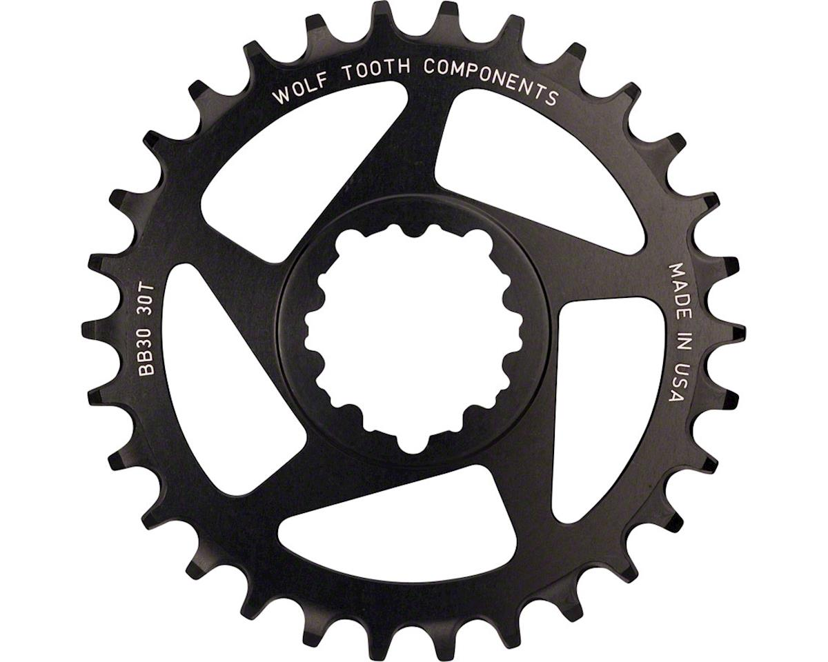 Wolf Tooth Components Direct Mount Drop-Stop Chainring (0mm Offset) (30T)
