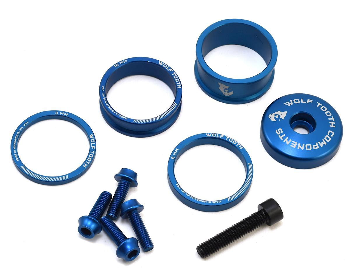 Wolf Tooth Components Anodized Bling Kit (Blue)