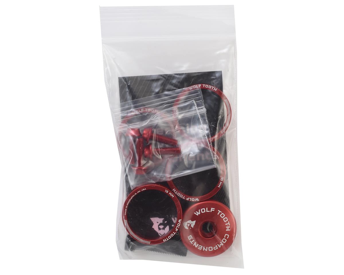 Wolf Tooth Components Anodized Bling Kit (Red)