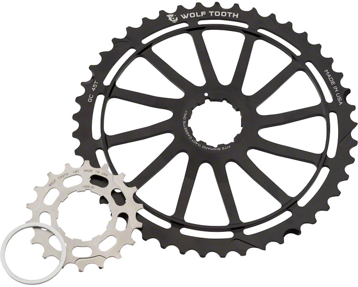 Wolf Tooth Components GC 45T Cog w/ 18T Cog & Spacer (For Shimano 11-40/42T)