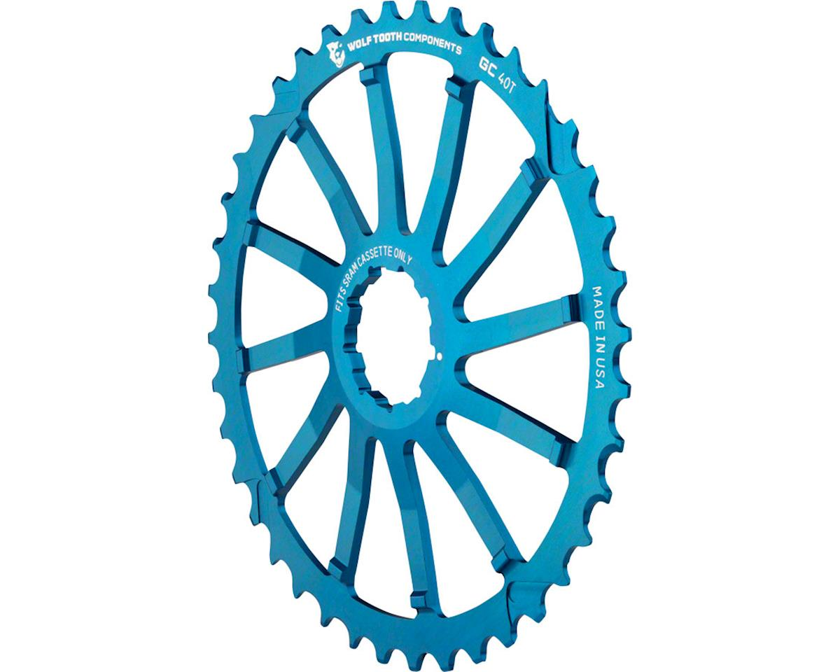 Wolf Tooth Components 40T GC Cog (Blue) (For SRAM 11-36T)