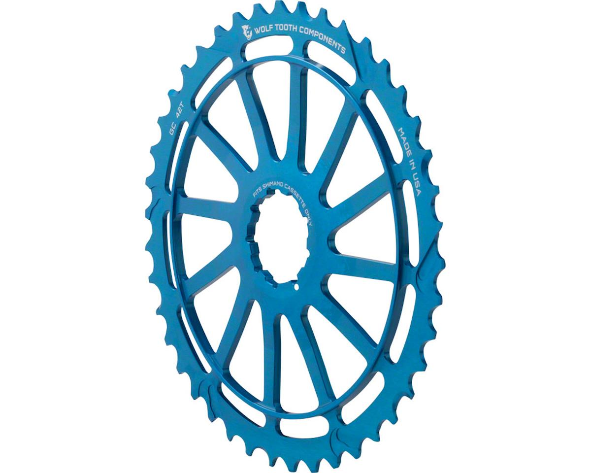 Wolf Tooth Components 42T GC Cog (Blue) (For Shimano 11-36T)