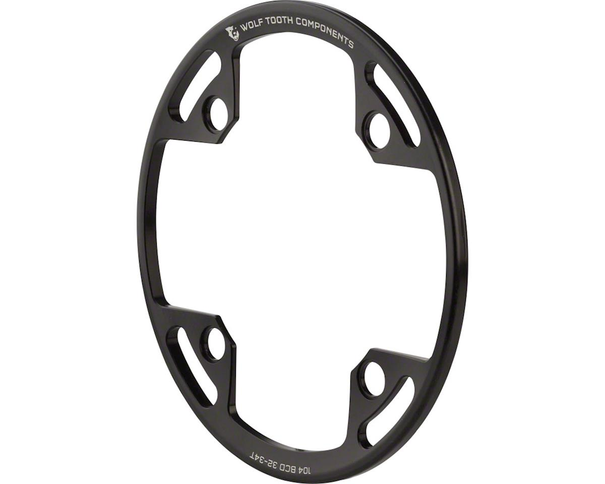 Wolf Tooth Components Bash Guard (For 104 BCD Cranks) (Fits 32-34T Chainrings)