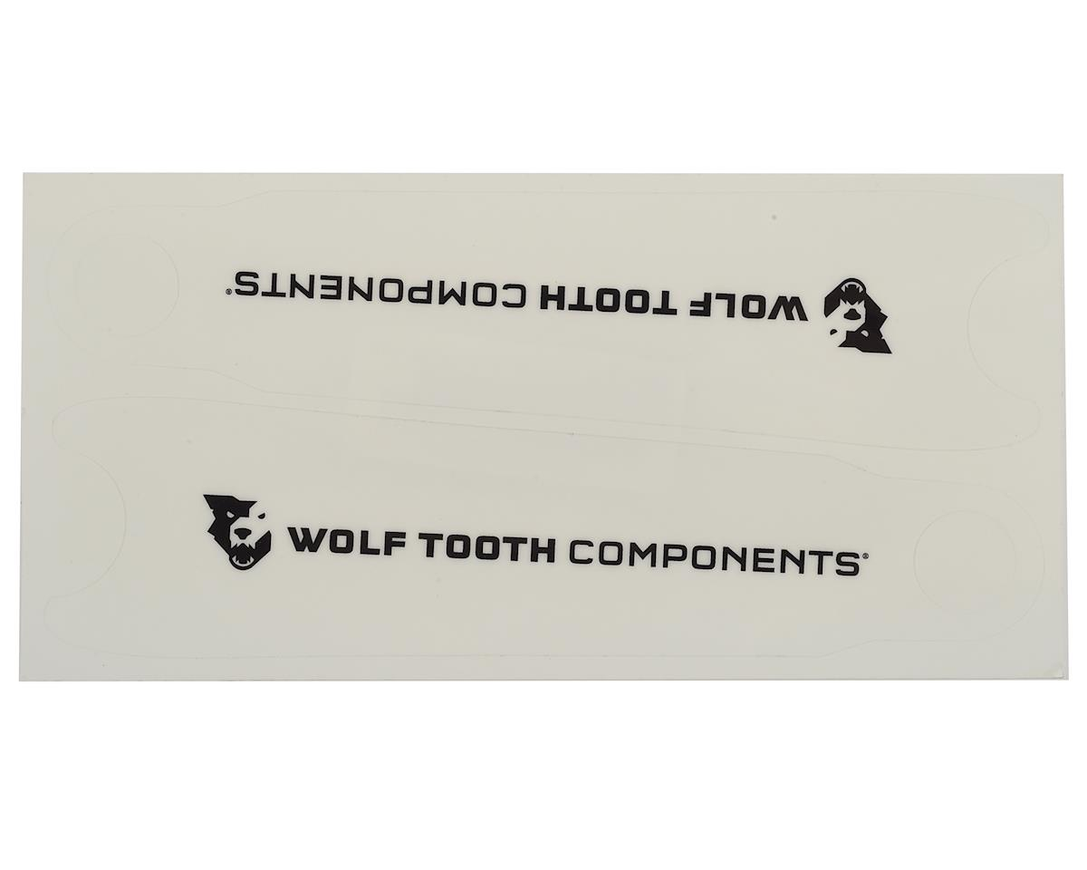 Wolf Tooth Components Crank Arm Protectors (Clear) (2)