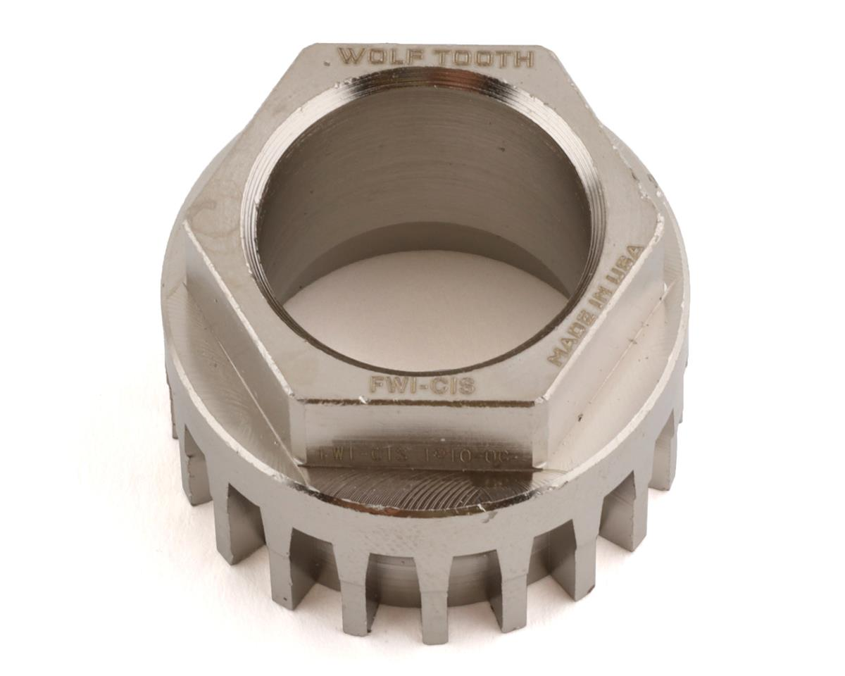 Wolf Tooth Components Flat Wrench CINCH & ISIS Spline Insert
