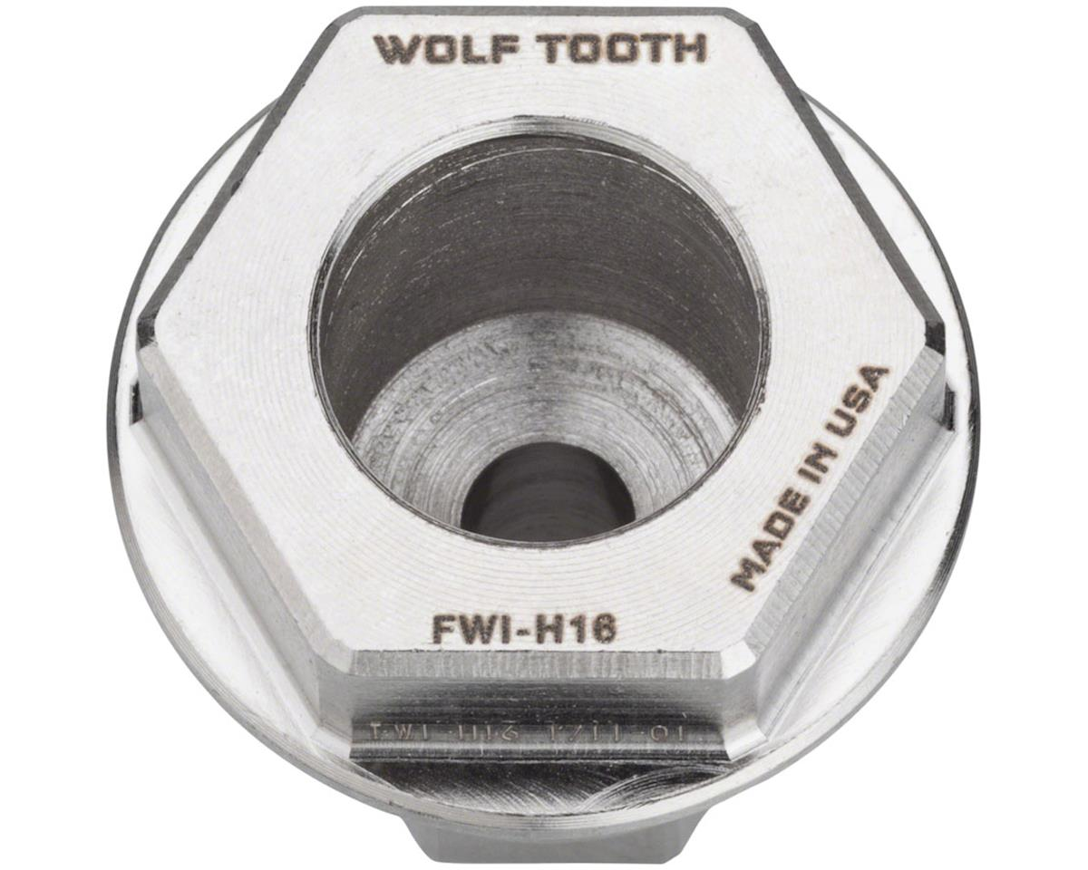 Image 1 for Wolf Tooth Components Flat Wrench 16mm Hex Insert