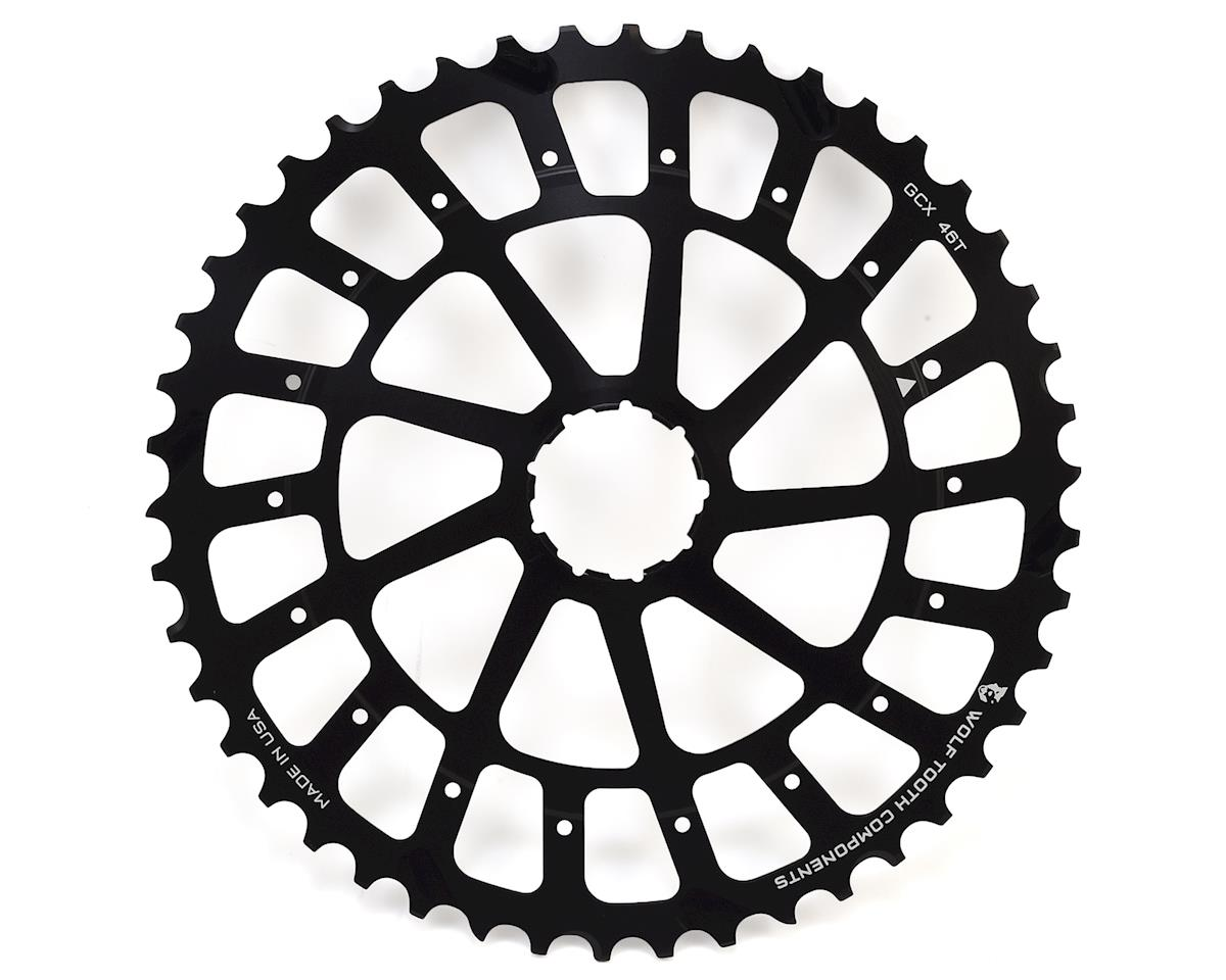 Wolf Tooth Components GCX 46T Cog for SRAM XX1/X01 Cassette (Black)