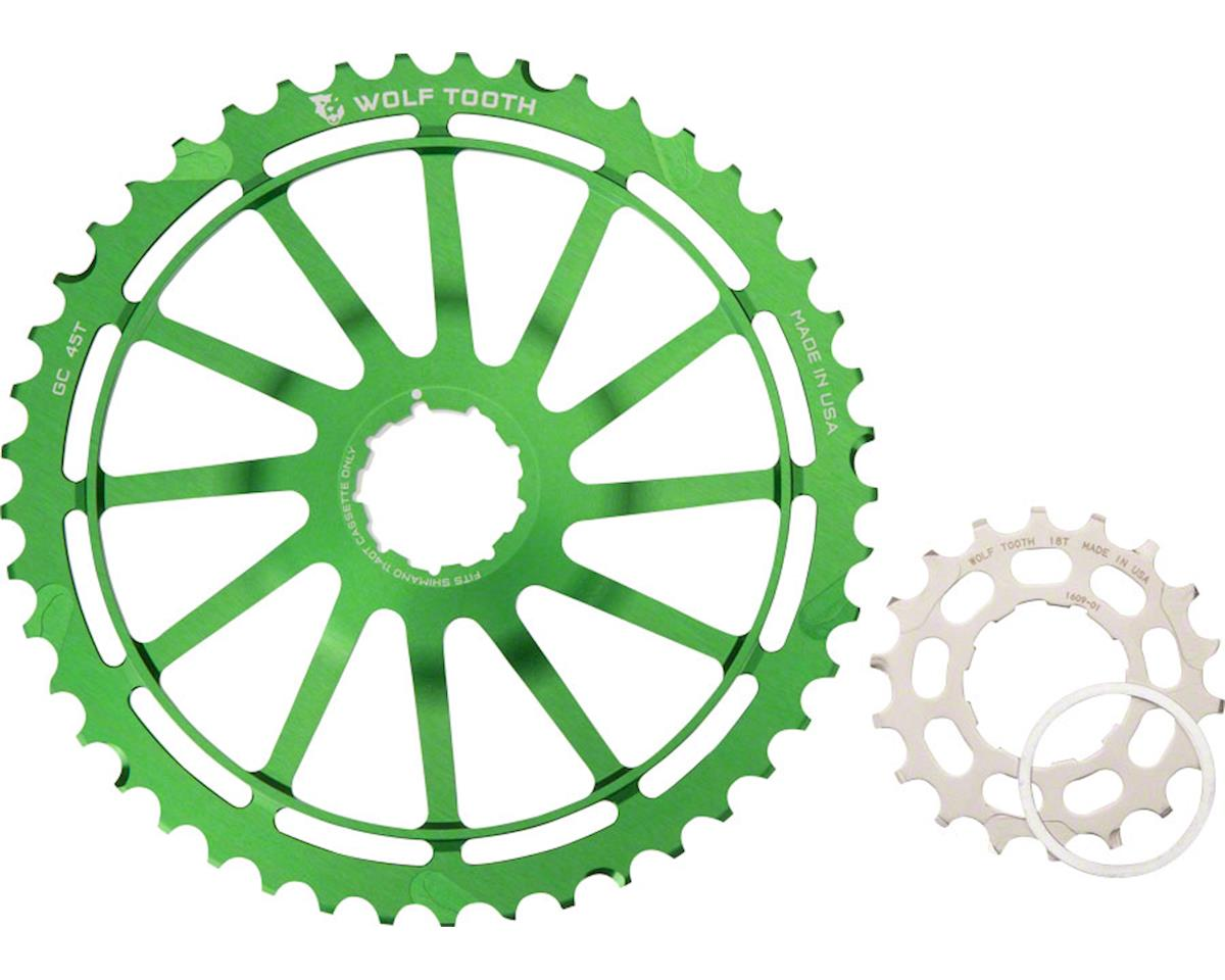 Wolf Tooth Components GC45 (Green) (45T & 18T w/ Spacer)