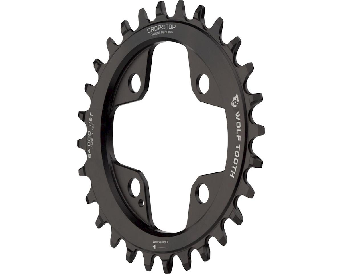 Wolf Tooth Components PowerTrac Drop-Stop Chainring (28T) (64 BCD)