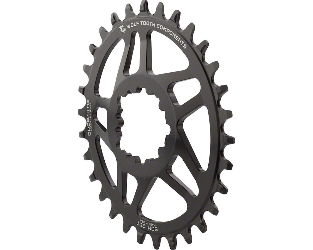 Wolf Tooth Components Powertrac Elliptical Direct Mount  Drop-Stop Chainring (30T)