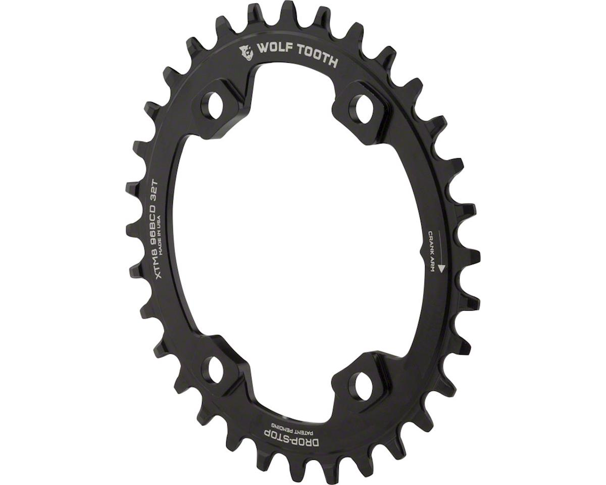 Wolf Tooth Components Drop-Stop PowerTrac Elliptical Drect Mount Chainring (32T)