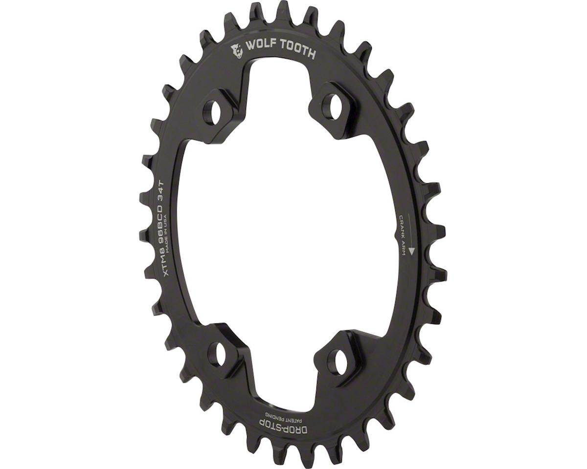 Wolf Tooth Components Drop-Stop PowerTrac Elliptical Drect Mount Chainring (34T)