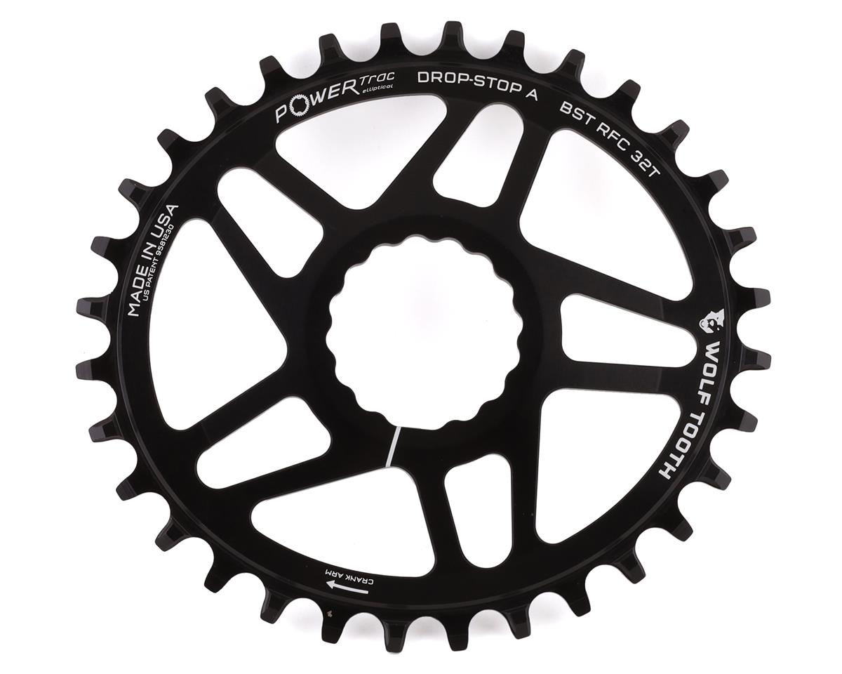 Wolf Tooth Components PowerTrac Drop-Stop Chainring (Boost Chainline) (32T)