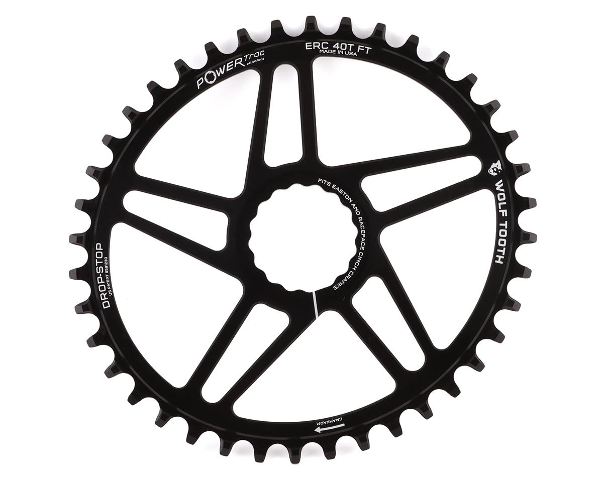 Wolf Tooth Components PowerTrac Drop-Stop Chainring (Boost Chainline) (40T)