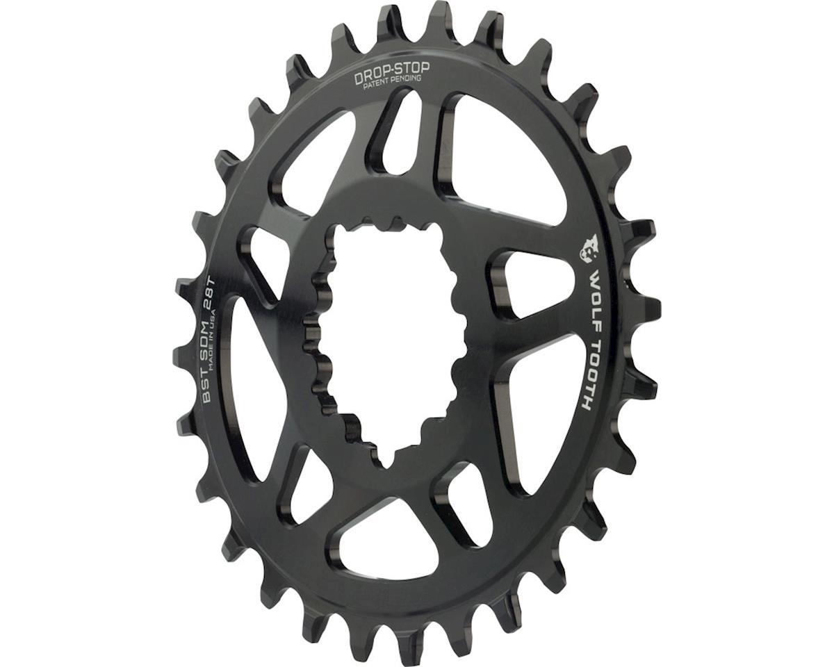 Wolf Tooth Components PowerTrac Drop-Stop Oval Chainring (3mm Offset) (28T)