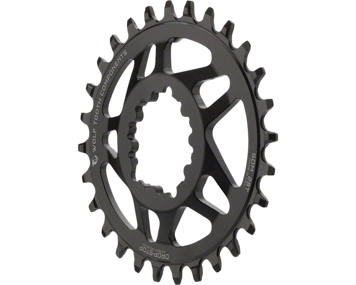 Wolf Tooth Components Direct Mount Drop-Stop 38T Chainring SRAM Cranks Black 6mm