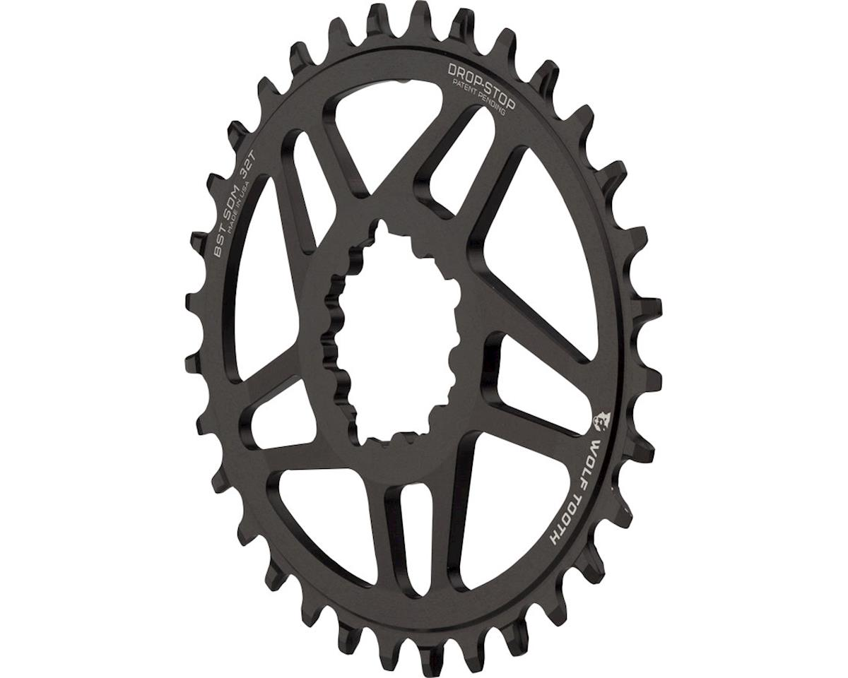 Wolf Tooth Components PowerTrac Drop-Stop Oval Chainring (3mm Offset) (32T)