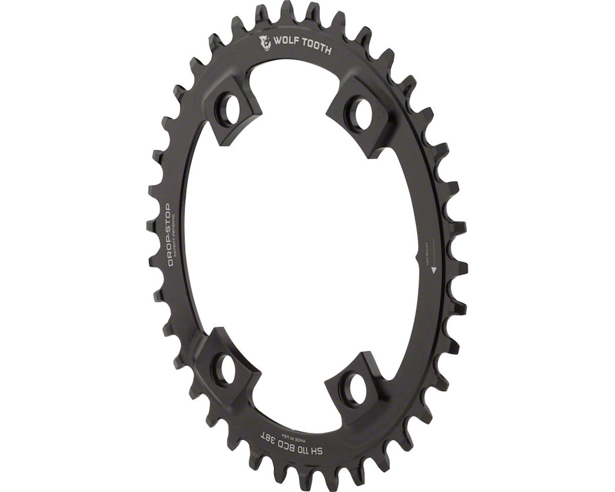 Wolf Tooth Components PowerTrac Drop-Stop Direct Mount Oval Chainring (38T)