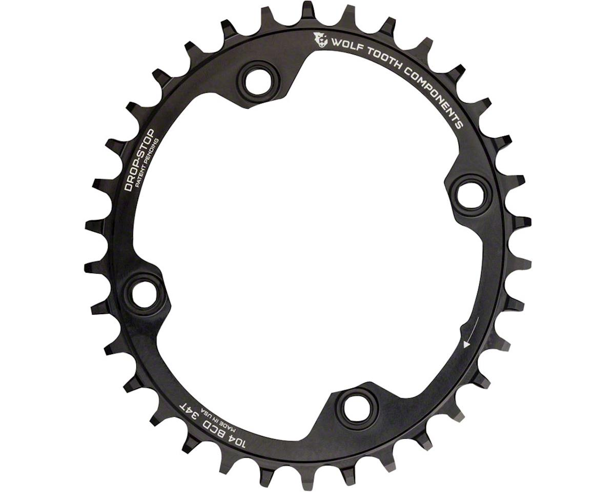 Wolf Tooth Components PowerTrac Elliptical Drop-Stop Chainring (104 BCD) (32T)