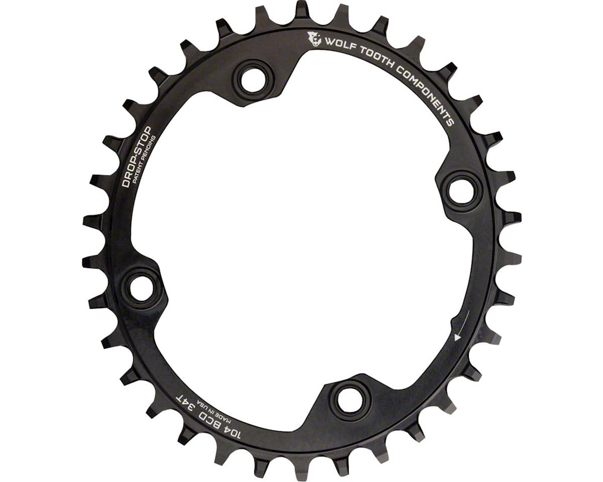 Wolf Tooth Components PowerTrac Elliptical Drop-Stop Chainring (104 BCD) (36T)