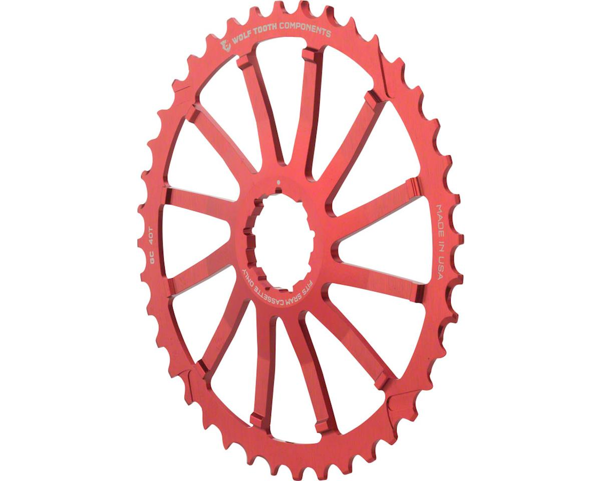 Wolf Tooth Components GC Cog (Red) (For SRAM 11-36 10-speed Cassettes)