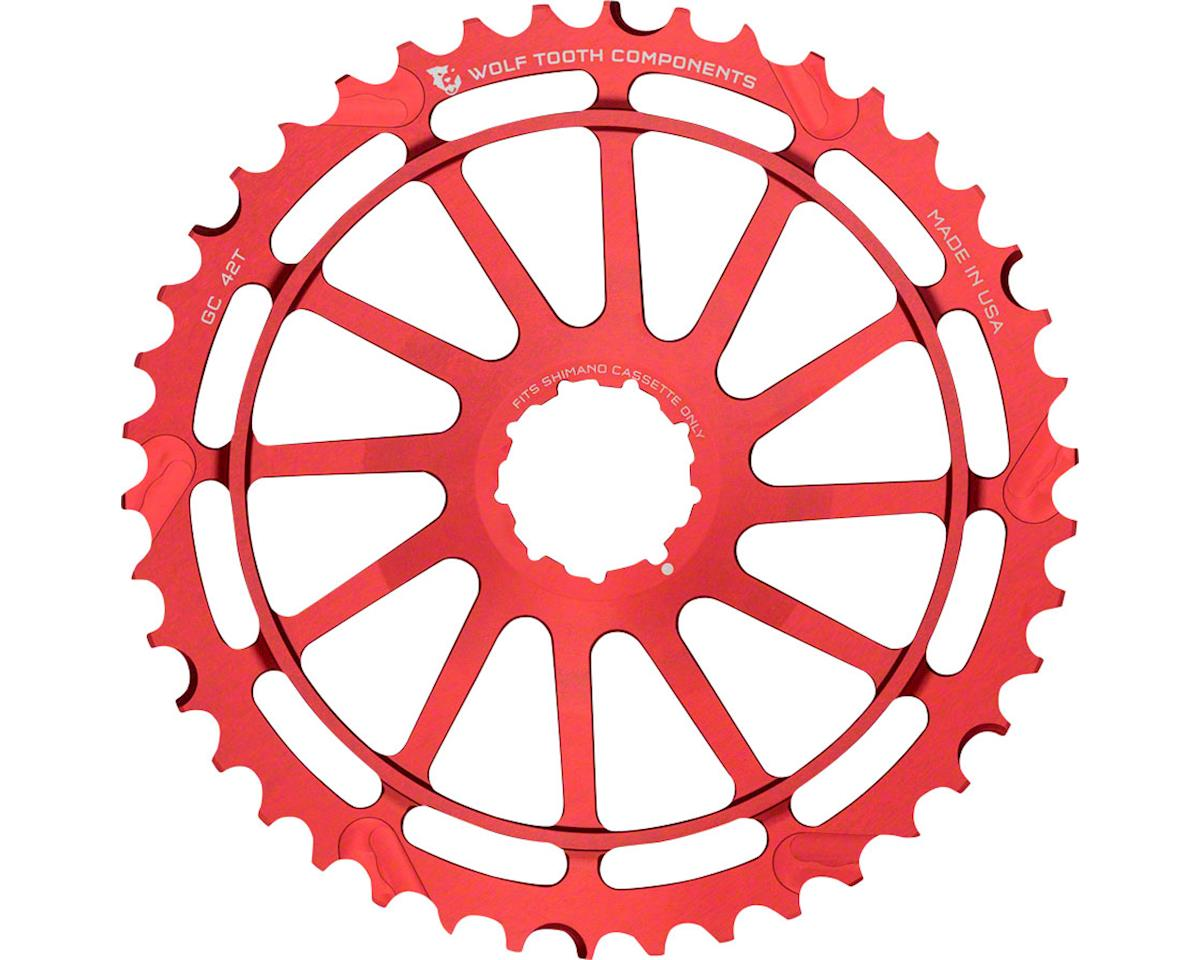 42T GC cog for Shimano 11-36 10-speed Cassettes, Red