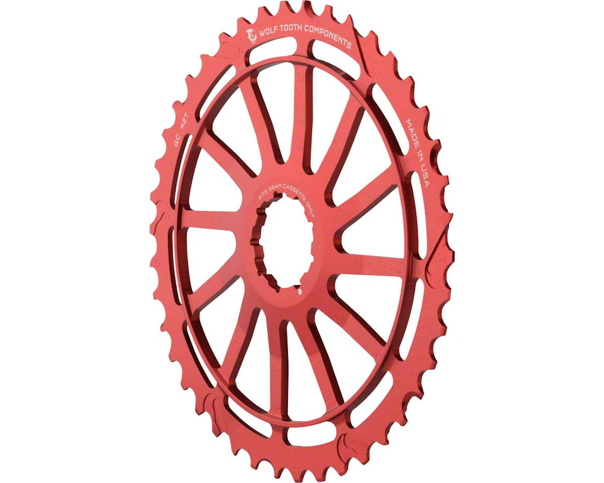 Wolf Tooth Components GC Cog (Red) (For SRAM 11-36 10-speed Cassettes) (42T)