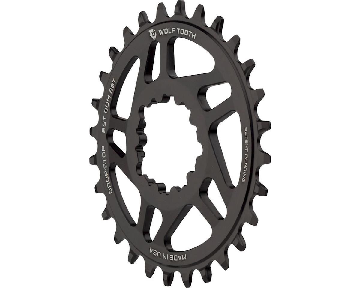 Wolf Tooth Components Drop-Stop Chainring (SRAM Direct Mount) (3mm Offset) (28T)