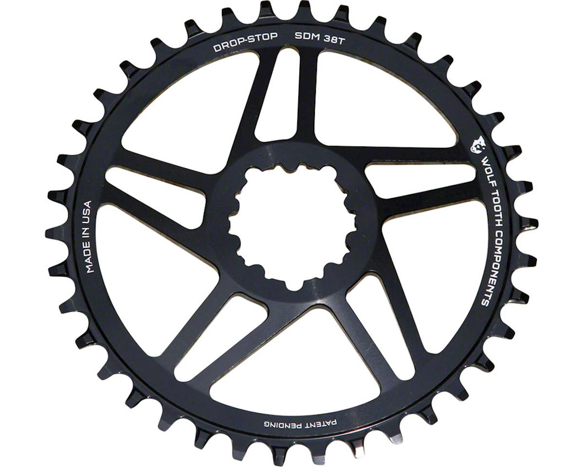 Wolf Tooth Components Drop-Stop Chainring (SRAM Direct Mount) (6mm Offset) (38T)