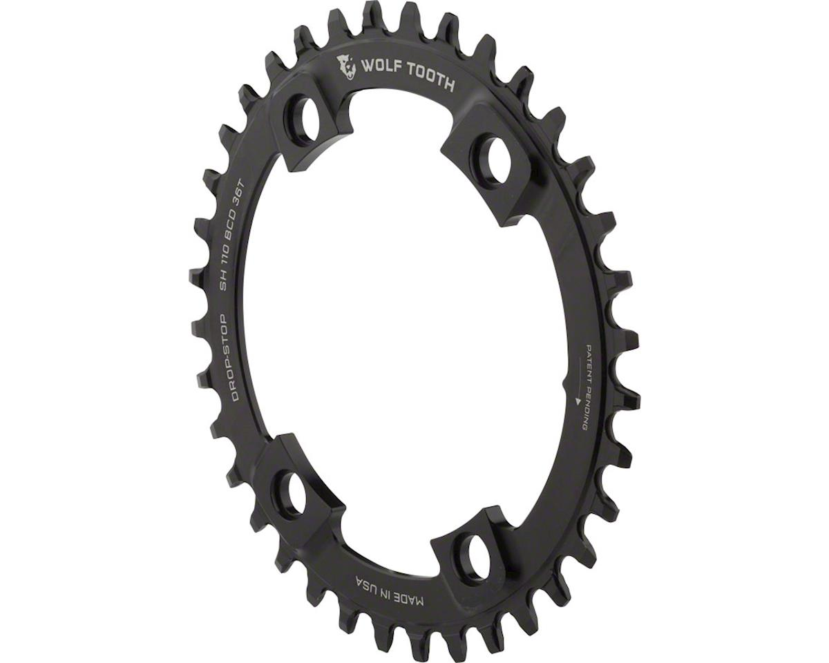 Wolf Tooth Components Drop-Stop Chainring (Shimano Asymmetric 110 BCD) (36T)