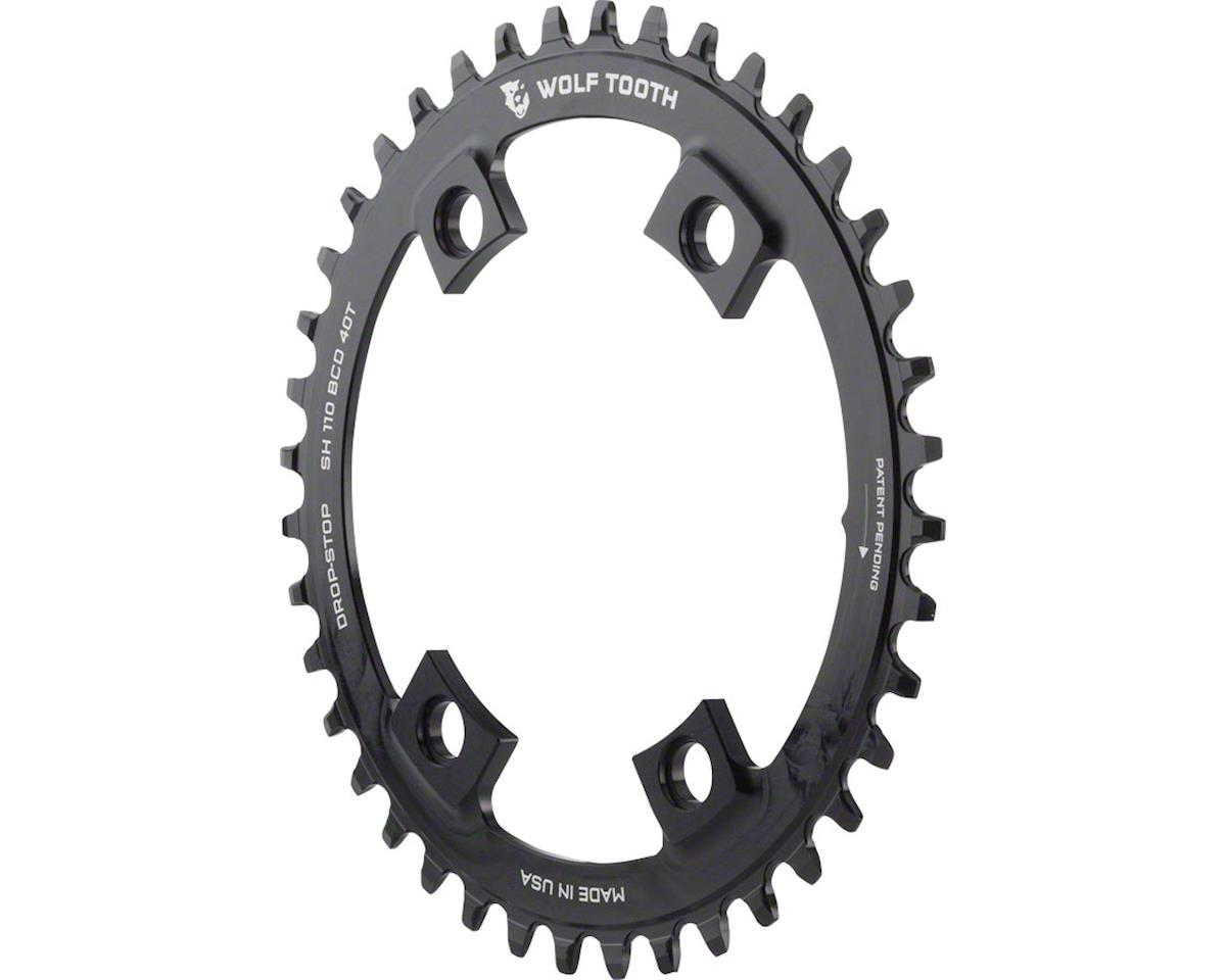 Wolf Tooth Components Drop-Stop Chainring (Shimano Asymmetric 110 BCD) (40T)