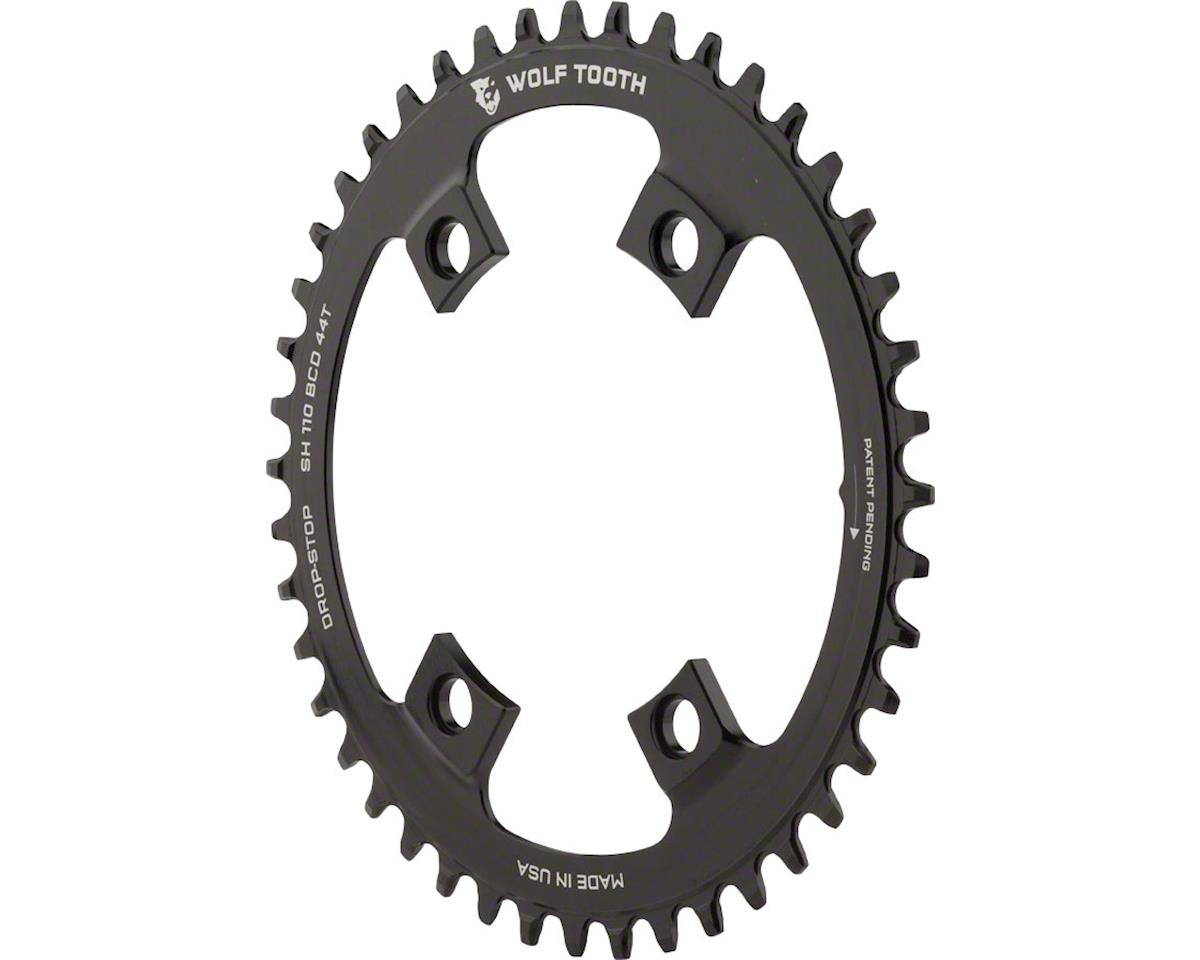 Wolf Tooth Components Drop-Stop Chainring (Shimano Asymmetric 110 BCD) (44T)