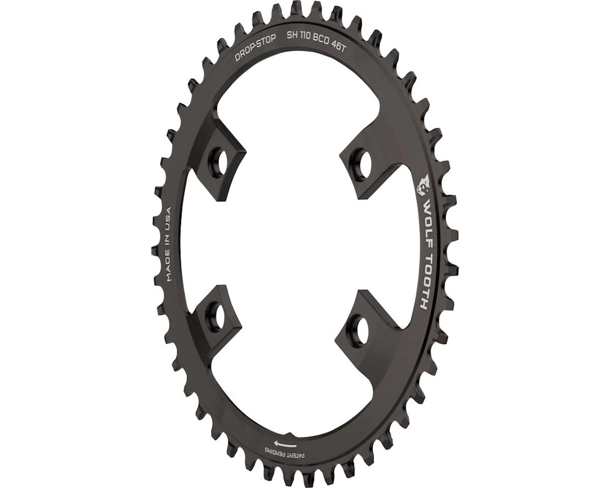 Wolf Tooth Components Drop-Stop Chainring (Shimano Asymmetric 110 BCD) (46T)