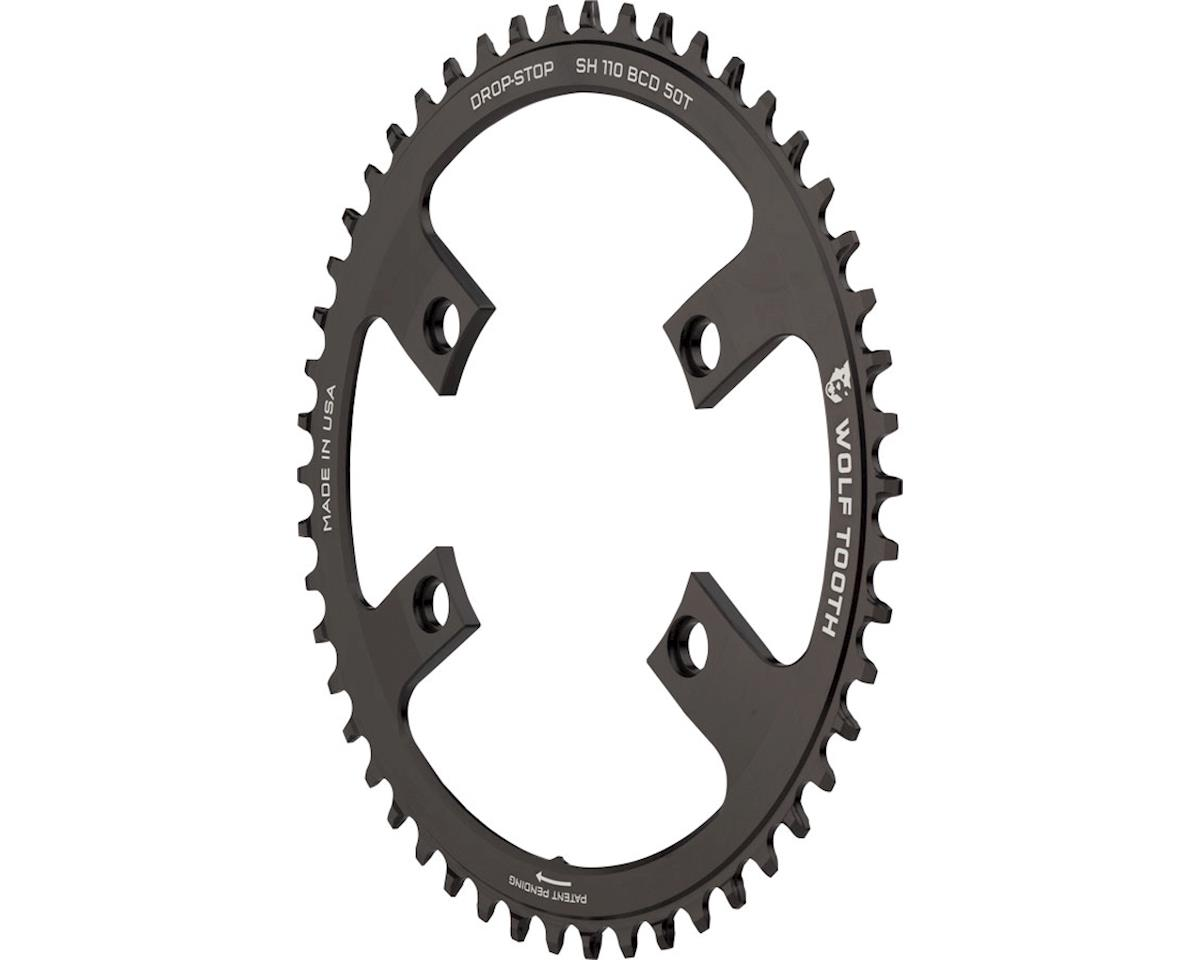 Wolf Tooth Components Drop-Stop Chainring (Shimano Asymmetric 110 BCD) (50T)