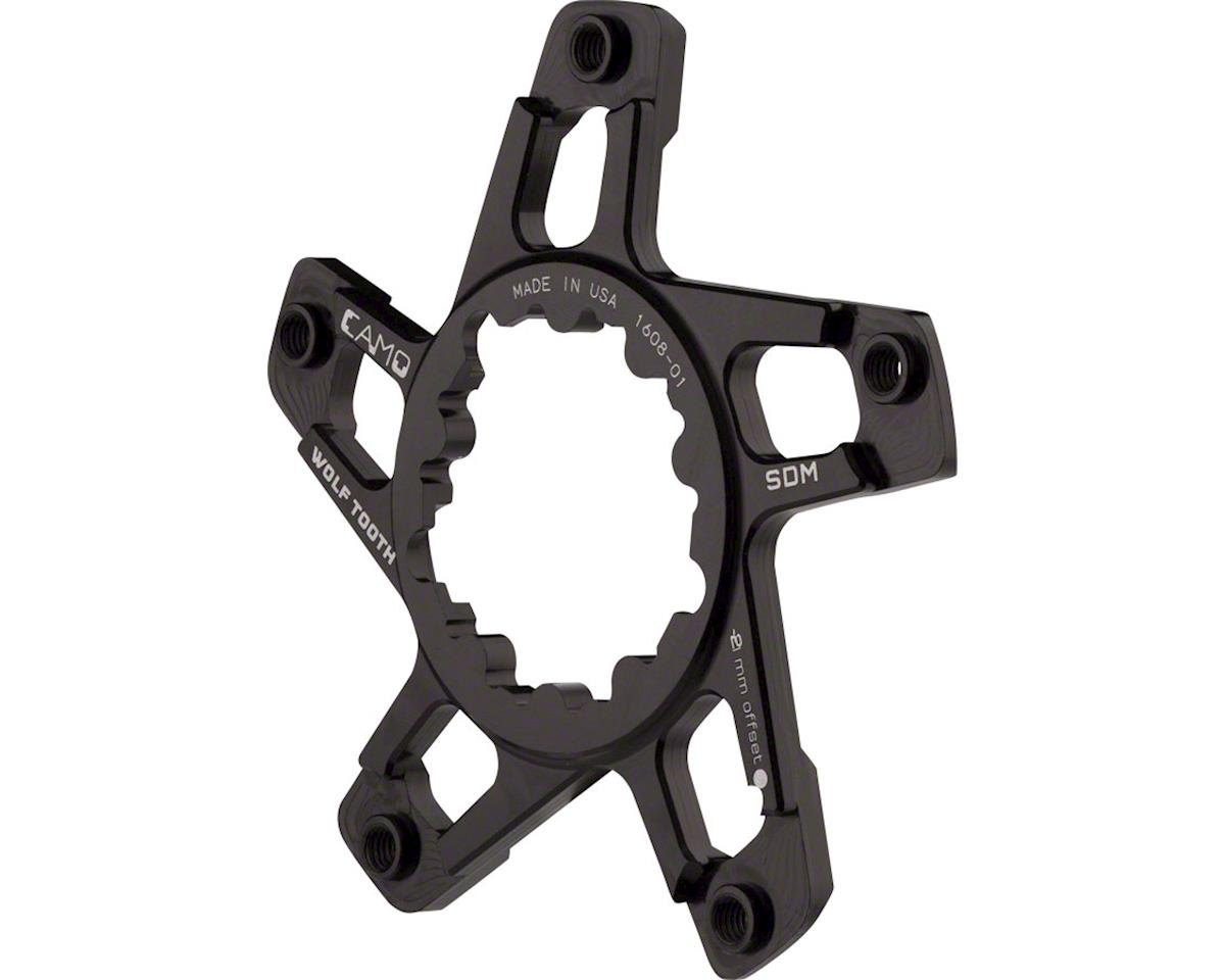 Wolf Tooth Components CaMO SRAM Direct Mount Flat Spider (-2mm Offset)
