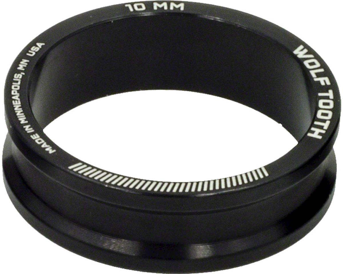"""Wolf Tooth Components 1 1/8"""" Headset Spacers (Black) (5) (10mm)"""