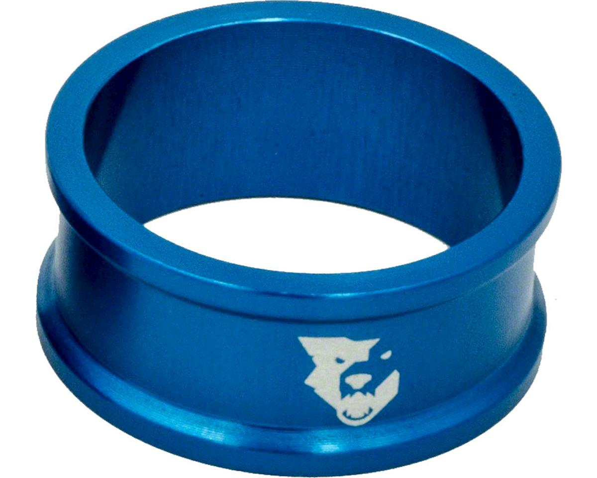 """Wolf Tooth Components 1 1/8"""" Headset Spacers (Blue) (5) (15mm)"""