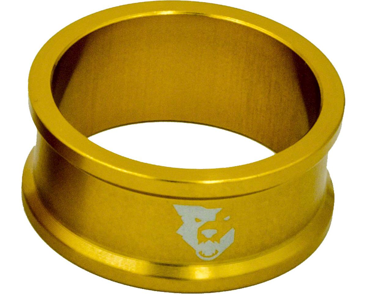 """Wolf Tooth Components 1 1/8"""" Headset Spacers (Gold) (5) (15mm)"""