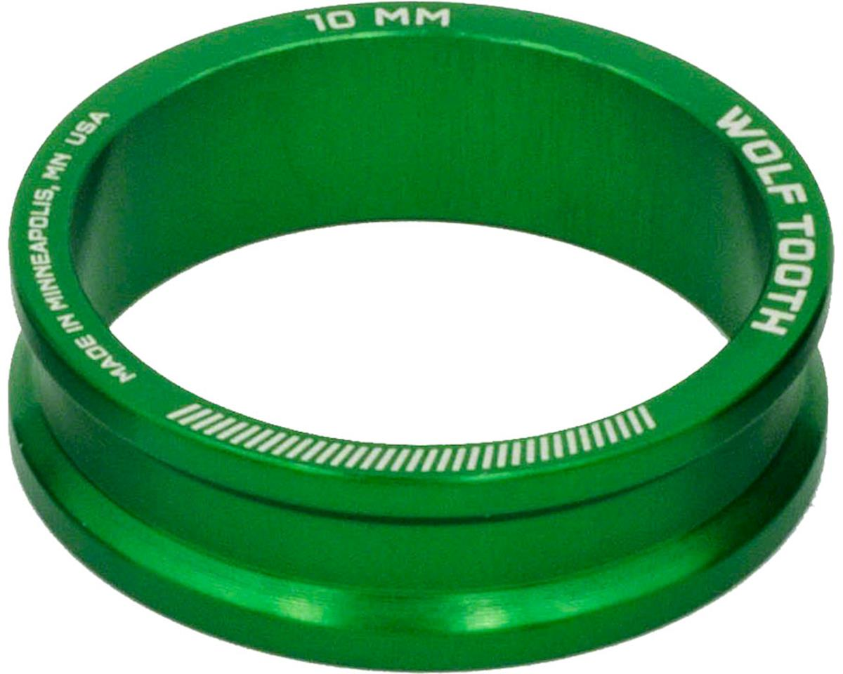 "Wolf Tooth Components 1 1/8"" Headset Spacers (Green) (5) (10mm)"
