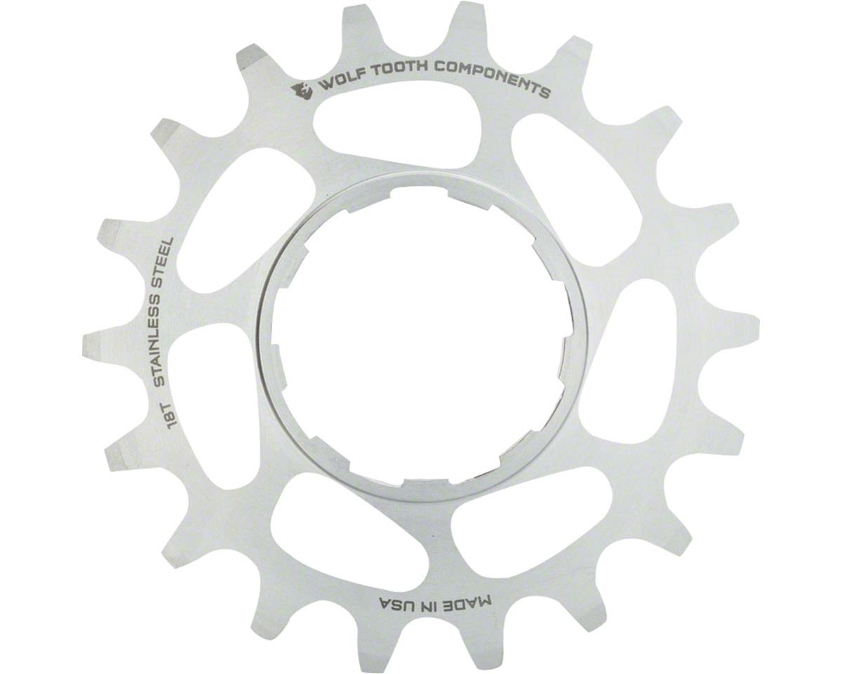 Wolf Tooth Components Single Speed Stainless Steel Cog: 16T, Compatible with 3/3