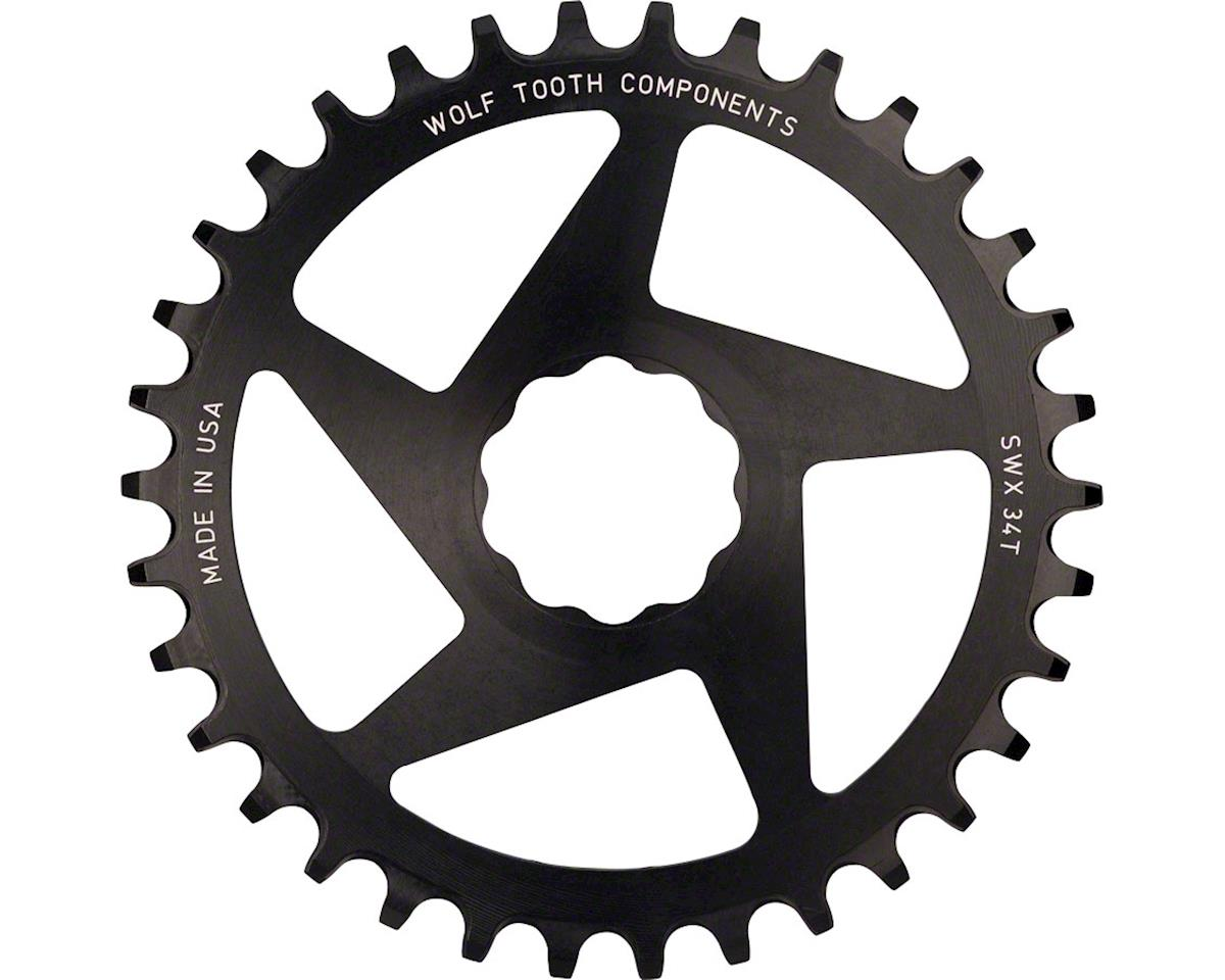 34T Direct Mount Drop-Stop Chainring For S-Works Or Lightning Cranks, Blac