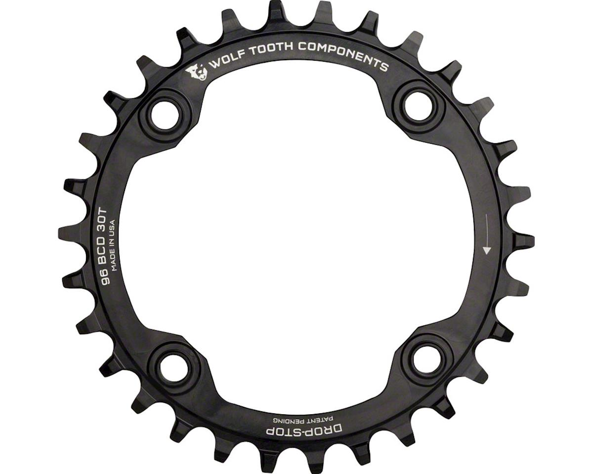 Wolf Tooth Components Drop-Stop Chainring (Black) (30T)